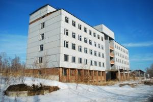 abandoned building in akademgorodok